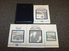 1998 Ford Escort Coupe Owner Owner's Operator User Guide Manual Set ZX2 2.0L