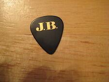 Jon Bon Jovi Black J.B. CrossRoad Cross Road Guitar Pick