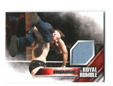 WWE Sheamus 2016 Topps Then Now Forever Royal Rumble Mat Relic Card SN 86 of 399
