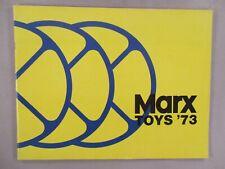 Marx Toy CATALOG - 1973 ~~ toys