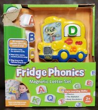 Brand New Leapfrog Fridge Phonics Bus Magnetic Letter Set