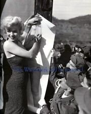 MARILYN MONROE in KOREA, KOREAN WAR 8X10 GLOSSY PHOTO  1950's Celebrity,  m17