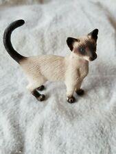 Rare 1997 Schleich Siamese Cat 16653 Animal Figure