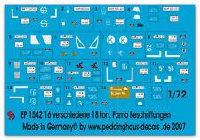 Peddinghaus 2891 1//72 Beschriftungen für Frühe Panzer III 1939-41