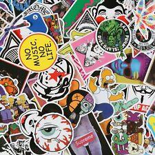 100pcs Designer Hypebeast Streetwear VInyl Stickers Skateboard Suitcase
