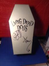 Living Dead Dolls series Mystery Vincent Vaude Black & White Mezco AUTOGRAPH