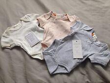 Pumpkin Patch Baby Girl 3-pack Short Sleeve Bodysuits Size PREM BNWT Baby Gift