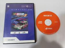 NASCAR 3 III RACING SET PC DVD-ROM SPANISH SIERRA