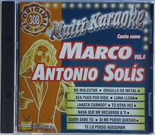 Marco Antonio Solis #4 Multi-Karaoke OKE308 Español Spanish