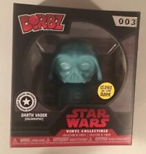DARTH VADER STAR WARS Funko DORBZ DISNEY #003 Special Edition GLOW in the DARK
