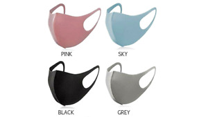 Reusable And Washable Face Coverings Masks Protection Shield Adults Unisex UK