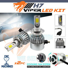 2x H7 VIPER S6 CANBUS LED HEADLIGHT KIT BMW AUDI FIESTA A4 A3 MERCEDES HID Cob