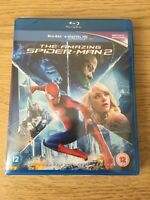The Amazing Spider-man 2 UK Bluray Region Free Brand New Sealed