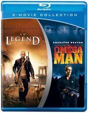OMEGA MAN / I AM LEGEND 2 MOVIE  1971/2007  CHARLTON HESTON / WILL SMITH  2 DISC