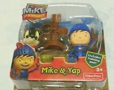 Mike The Knight Figure Toy Fisher-Price Mike & Yap