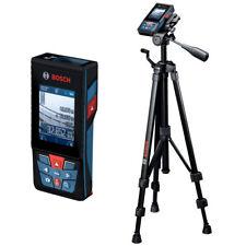 Bosch Laser-Entfernungsmesser mit Kamera GLM 120 C + Stativ BT 150