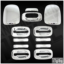 1999-2006 Chevrolet Silverado 1500/2500 4dr Door Mirror Tailgate Cover Trim