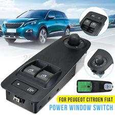 Electric Power Window Switch FOR PEUGEOT CITROEN BOXER DUCATO FIAT 735487419 UK