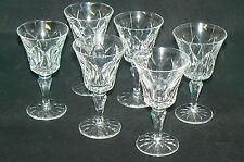 Cristal de SAINT-LOUIS lot de 6 verres à vin ou à eau modèle CAMARGUE ( 2 )