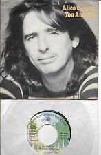 ALICE COOPER  You And Me / It's Hot Tonight  rare 45 with PicSleeve from 1977