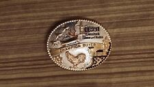 HOUSTON LIVESTOCK SHOW RODEO 2010 CHAMPION POULTRY BUYER BUCKLE FREE SHIPPING
