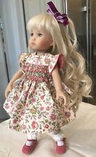 "Adorable 10"" Doll Boneka Dianna Effner Tuesdays Child Smocked Dress 24cm Sold3"