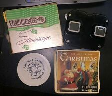 Vintage Sawyer View-Master Stereoscope with Original Box and Reel Lot Collection