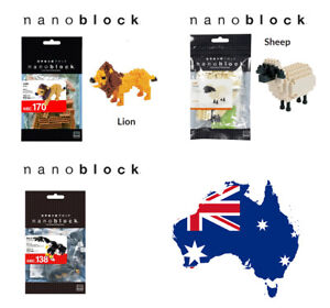 Nanoblock Animals Brand New & Sealed choose one AU Seller