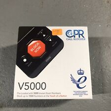 Cpr V5000 Call Blocker for Landline Phones - Pre-loaded with 5000 known Robocall