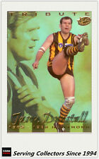 1999 Select AFL Trading Card Limited Edition Tribute Card RC1 Jason Dunstall