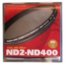 Marumi 52mm DHG Variable ND2-ND400 Neutral Density Filter DHG52VND, London