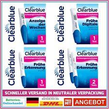 CLEARBLUE Schwangerschalftstest Easy Frühtest Digital Auswahl  !!