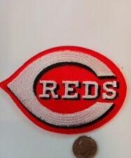 """CINCINNATI REDS Embroidered Iron On Patch 3.5""""x  2.5"""" MLB"""