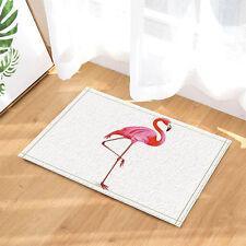 Flamingo bird Shower Floor Bathroom Carpet Rug Non Slip Door Floor Mat Rugs