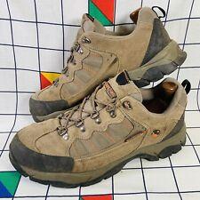 Hi-Tec 50 Peaks Montana Lo Suede Waterproof Hiking Walking Boots Mens Size UK 10