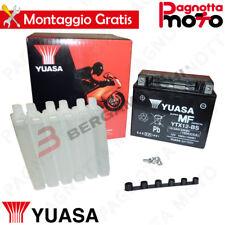 BATTERIE YUASA YTX12-BS C/ACIDE ARCTIC CAT 2X4 250 1999>2005