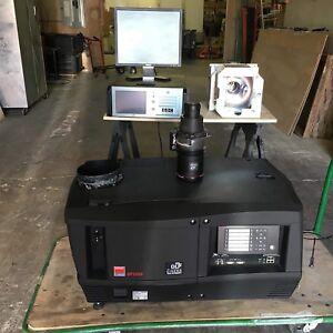 BARCO DP2000 DCP DIGITAL CINEMA Projector Lens & Server with warranty
