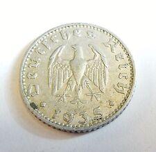 ALLEMAGNE 50 reichspfennig 1935 J