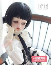 BJD Doll Hair Wig 8-9 inch 20-22cm Black 1/3 SD DZ DOD LUTS Straight bob F10b
