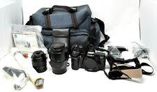 Rare Konica Minolta Maxxum 7000i Film Camera In Case + All Accessories - Nice