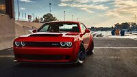 2018 Dodge Challenger SRT Demon Auto Car Art Silk Wall Poster Print 24x36""