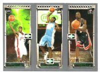 2003-04 Topps Rookie Matrix LeBron James Carmelo Anthony Dwyane Wade ROOKIE