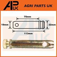 Category Cat 1 Linkage Top Link Pin 19mm x 75mm Vintage Fordson Ferguson Tractor