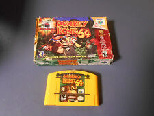 N64 DONKEY KONG 64 GAME WITH BOX *USED*