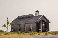Laser Cut N Scale Single Stall Engine House KIT.