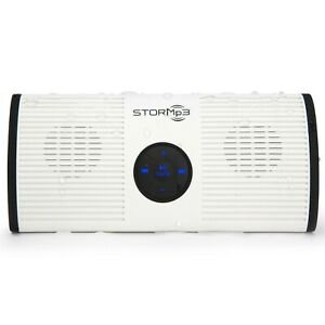 ToiletTree Products STORMp3 Water Resistant and Portable Mp3 Speaker - In White!