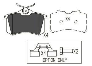 Disc Brake Pad Set-TSS Semi-Metallic Pads Rear Dash 4 Brake TD340M