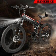 26 INCH Folding Electric Bike 48V 350W Motor Electric Bicycle Mountain E-Bike EU