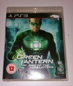Green Lantern Rise Of The Manhunters PS3 USED  UK PAL Sony PlayStation 3