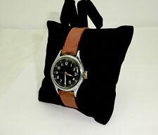 Vintage Wwii Bulova A-11 Military Hack Wristwatch,Runs,No.94-278 34,16J 10/Az